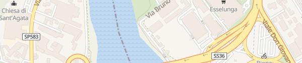 Karte RWE Ladesäule Lecco