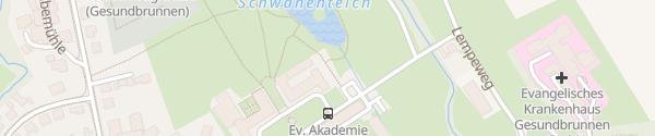 Karte Gesundbrunnen Hofgeismar