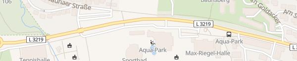 Karte AquaPark Baunatal