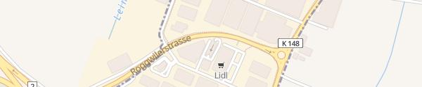 Karte Autowaschzentrum Arbon
