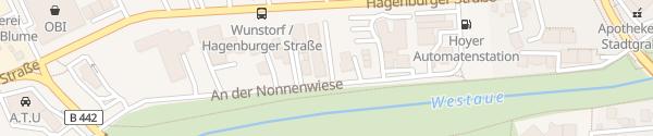 Karte meerstrom Wunstorf