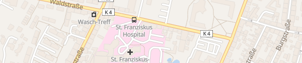 Karte Duburg Apotheke Flensburg