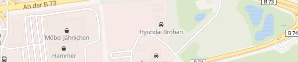Karte Autohaus Bröhan Stade