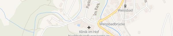 Karte Hotel Hof Weissbad