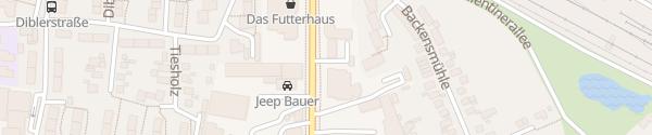 Karte Landesbetrieb Straßenbau und Verkehr Flensburg