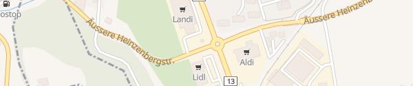 Karte LANDI Thusis