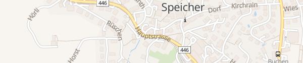 Karte Hotel Krone Speicher