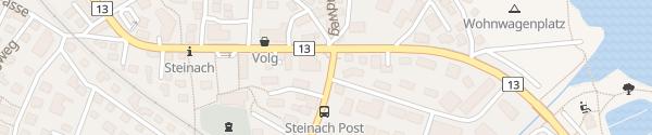 Karte Bäckerei Füger Steinach