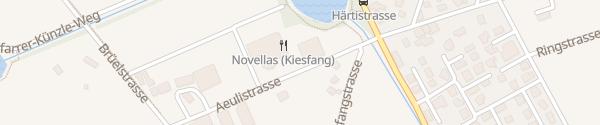 Karte Aeulistrasse Vilters-Wangs