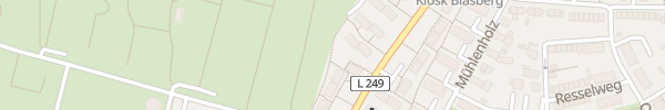 Karte Mürwicker Straße Flensburg