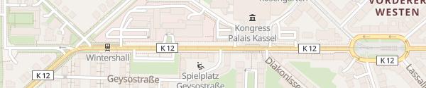 Karte Stadthalle Kassel