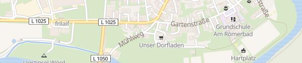 Karte Dorfladen Jagsthausen