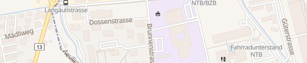 Karte BZB Berufs- und Weiterbildungszentrum Buchs