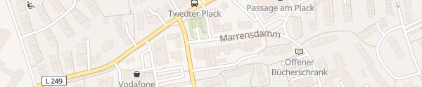 Karte Twedter Plack Flensburg