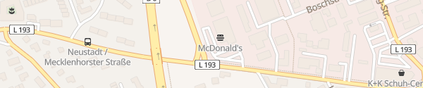 Karte McDonald's Neustadt am Rübenberge