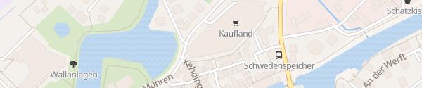 Karte Kaufland Stade