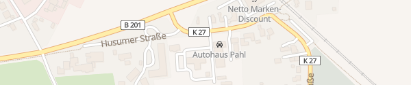 Karte Husumer Straße Schuby