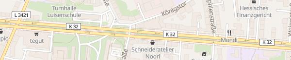 Karte Volkswagen Zentrum Kassel