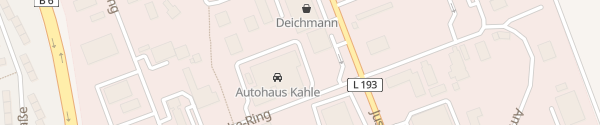 Karte Autohaus Kahle Neustadt am Rübenberge