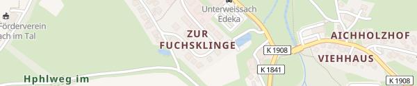 Karte Fuchsklinge Weissach im Tal