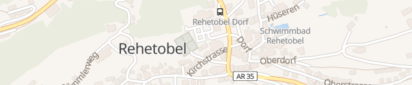 Karte Gemeindeverwaltung Rehetobel