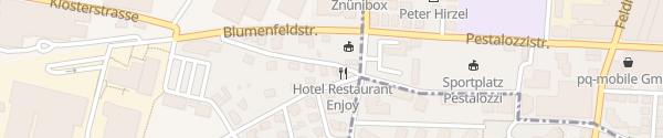 Karte Hotel Restaurant Enjoy Goldach
