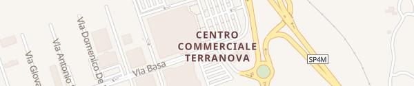 Karte Centro Commerciale Terranova Olbia