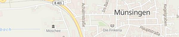 Karte P&C Rathaus Münsingen