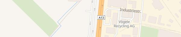Karte Parkplatz Obere Au Chur