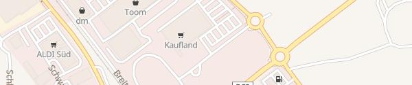 Karte Kaufland Bad Saulgau