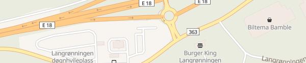 Karte Circle K Bamble Stathelle