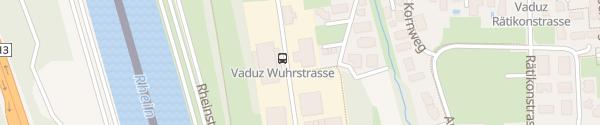 Karte Gewerbehaus Vaduz