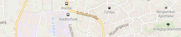 Karte Stadthalle Schlüchtern