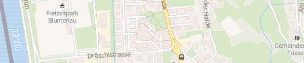 Karte Gemeindeverwaltung Triesen