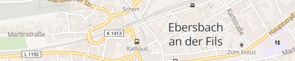 Karte Rathaus Ebersbach