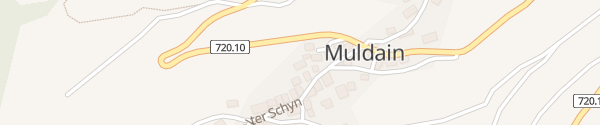 Karte Muldain Obervaz