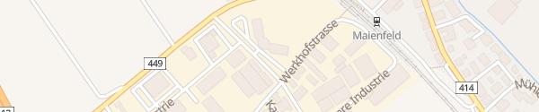 Karte Evite/MOVE-Ladesäule Maienfeld