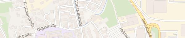 Karte Hahnsche Mühle Schorndorf