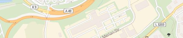 Karte Mercedes-Benz Nutzfahrzeuge Lohfelden