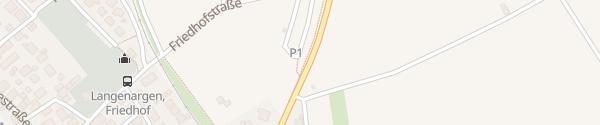 Karte Parkplatz Friedhofstraße / Friedrichshafener Str. Langenargen