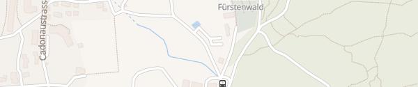 Karte Parkplatz Fürstenwald Chur