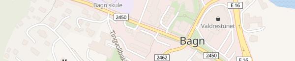 Karte Coop Prix Bagn