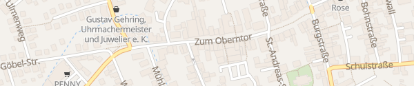 Karte Kundenbüro Stadtwerke Springe