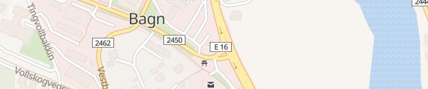 Karte Circle K Bagn