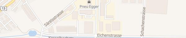 Karte Gschwend Garage Altstätten