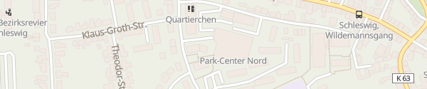 Karte Parkhaus Park-Center-Nord Schleswig