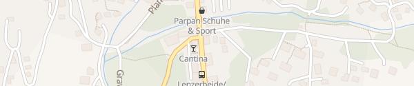 Karte Hotel La Vatga Lenzerheide