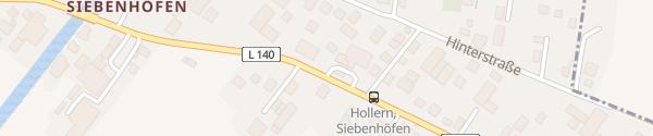 Karte AVIA Tankpoint Hollern-Twielenfleth