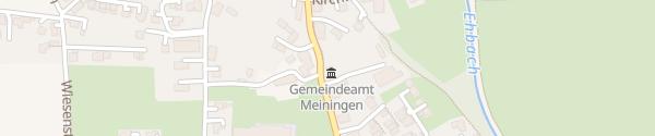 Karte Gemeindeamt Meiningen
