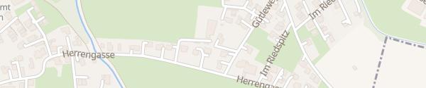 Karte Therapiestation Lukasfeld Meiningen
